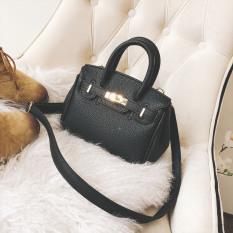 Spesifikasi Kelly Korea Fashion Style Tas Model Hermes Perempuan Bahu Messenger Tas Tas Hitam Yang Bagus Dan Murah