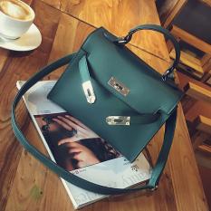 Jual Beli Online Kelly Wanita Baru Matte Mini Portabel Tas Tas Hijau Hijau