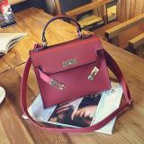 Jual Kelly Wanita Baru Matte Mini Portabel Tas Tas Merah Merah Oem Original