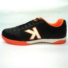 Kelme Landprecision Sepatu Futsal - Black/Orange