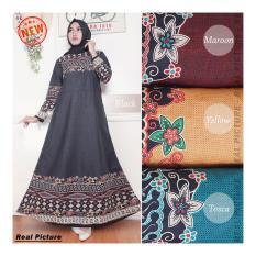 Kembar Gamis  Maxi Dress Sarah- Tosca (No Pasmina )