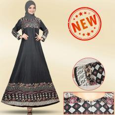Toko Kembar Maxi Dress Dahlia Grey No Pasmina Di Indonesia