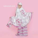 Jual Kembar Stelan Mukena Anak Nadira Warna Pink Twin Online