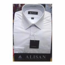 Kemeja ALISAN Slimnfit Putih Polos Panjang