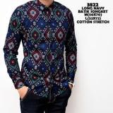 Harga Kemeja Batik Cowok Panjang Kerja Kantor Slimfit Murah Batik Asli