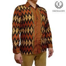 Kemeja Batik Excellent Emas - Intan Hitam