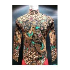 Kemeja Batik Genes Warna Alam Size M