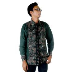 Harga Kemeja Batik Lengan Panjang Jb Sabri Hijau Multi