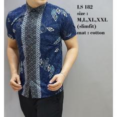 Spesifikasi Kemeja Batik Modern Pria Ls182 Bagus