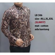 Beli Kemeja Batik Pria Baju Lengan Panjang Pria Baju Batik Modern Cicilan