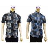 Situs Review Kemeja Batik Pria Slimfit A7769 Black Koko Kombinasi Muslim Jeans