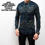 Harga Kemeja Batik Pria Songket Long Tosca Batik