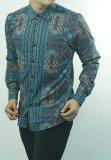 Jual Kemeja Batik Slimfit H892C Baju Fashion Pria Muslim Koko Jeans Herman Ori
