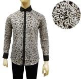 Spesifikasi Kemeja Batik Slimfit Pria 8208 Kombinasi Muslim Koko Jeans Terbaik