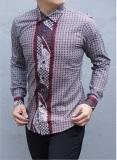 Jual Kemeja Batik Slimfit Pria H915A Kombinasi Muslim Koko Jeans Satu Set