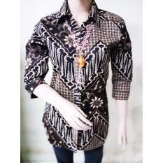 Perbandingan Harga Kemeja Batik Wanita Elegan Kbw 574 Catherine Fashion Di Indonesia