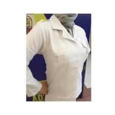 Kemeja Blus Putih PNS Wanita , Baju Putih PNS, Seragam Putih PNS, Kemeja Putih Panjang