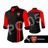 Harga Kemeja Bola Arsenal Hitam Merah Yg Bagus