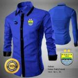 Harga Kemeja Bola Persib Type A Blue Kemeja Casual Persib Not Specified Indonesia