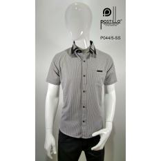 Kemeja Fashion Pria Slim Fit Postillo P044-5-SS