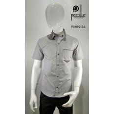 Kemeja Fashion Pria Slim Fit Postillo P046-2-SS