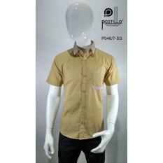 Kemeja Fashion Pria Slim Fit Postillo P046-7-SS