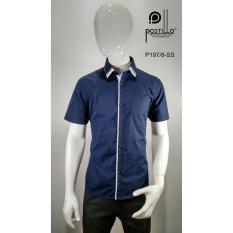 Kemeja Fashion Pria Slim Fit Postillo P197-8-SS
