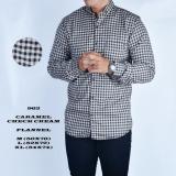Penawaran Istimewa Hakaye Kemeja Flanel Pria Baju Flanel Cowok Kemeja Kotak Baju Kotak Lengan Panjang Terbaru