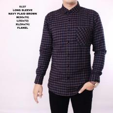 Spesifikasi Kemeja Flanel Pria Lengan Panjang Exclusive Kemeja Flannel Cowok Kerja Kantoran Kemeja