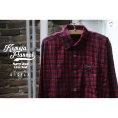 Kemeja Flannel Branded Murah Sumatera Kallimantan Surabaya Malang - Nmvmhs