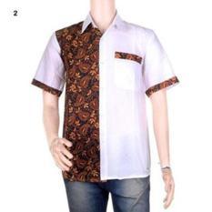 Kemeja Kerja | Kemeja Batik | Koko Pria Kombinasi Sandya - 02