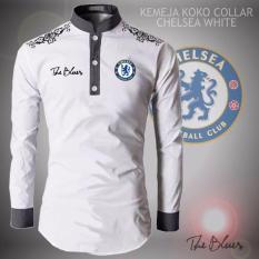 Harga Kemeja Koko Collar Type Chelsea White Dg S Online