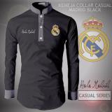 Beli Kemeja Koko Collar Type Madrid Black Pakai Kartu Kredit