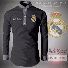 Diskon Besarkemeja Koko Collar Type Madrid Black