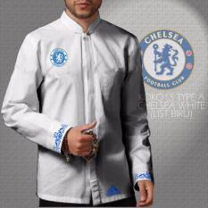 Harga Kemeja Koko Long Sleeve Type A Chelsea White Dg S Indonesia