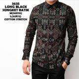 Review Tentang Kemeja Lengan Panjang Batik Songket Slimfit 3635 Kemeja Kerja Kantor Cowok Pria Premium