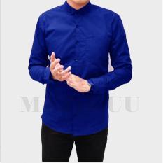 Kemeja Lengan Panjang Polos / Fashion Pria / Premium