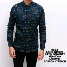 Harga Kemeja Pria Batik Bl Kemhol Motif1288 Jn Store