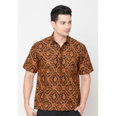 Spesifikasi Kemeja Pria Jening Batik Hr 052 Brown Dan Harganya