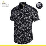 Spesifikasi Kemeja Pria Keren Lengan Pendek Panjang Motif Batik Polos Flanel Kode Fujita Lengkap Dengan Harga