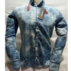 Ulasan Mengenai Kemeja Pria Motif Lengan Panjang Terbaru Bahan Oxford Full Cotton
