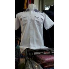 Kemeja Putih Pns Pria Baju Pdh Cowok - Cttjj0