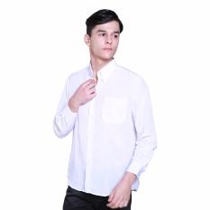 Kemeja Putih Polos Panjang Bagus Berkualitas
