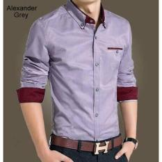 KEMEJA SLIM FIT ALEXANDER GREY  XRAYCOM
