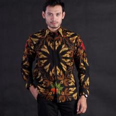 Best Seller!!! Baju Kemeja Batik Pria Lengan Panjang Bahan Katun Batik Semi Tulis Lapis Furing Motif Hole Kangkung SP391 Kemeja Batik Lengan pendek dengan DESAIN EKSKLUSIF dan ELEGAN