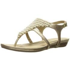 KENNETH COLE REAKSI Womens Tersesat! Ini Flat Sandal, Clay, KAMI-Internasional