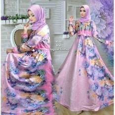 Kenzmal Maxi Gamis Dress Muslim Farasya Untuk Pesta - Tersedia 4 Warna