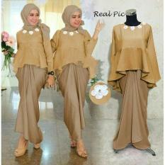 Kenzmal Maxy Gamis Dress Muslim Kayhz Untuk Pesta - Tersedia 5 Warna