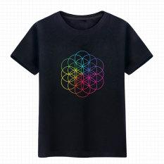 Jual Kepala Leher Bulat Lengan Pendek Coldplay T Shirt Hitam Di Bawah Harga