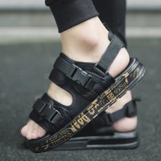 Katalog Sandal Summer Karakter Pakaian Luar Sendal Korea Fashion Style Baru Emas Hitam 901 Sepatu Pria Sepatu Sendal Other Terbaru